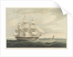 The 'Thomas Coutts' entering Bombay in 1826 during her second voyage by William John Huggins