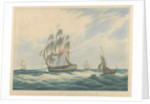 HCS. 'MacQueen (1821)' off the Start, 26th January 1832 by William John Huggins