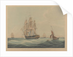 HCS 'MacQueen' (1821) off the Start, 26th January 1832 by William John Huggins