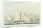 The loss of the merchant ship 'Weare' of Bristol, lost on the coast of Ireland, 1 January 1823 by G. Hall
