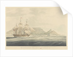 The Jessie and Eliza Jane in Table Bay, Cape of Good Hope, 1829 by Edward Duncan