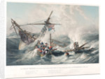 The life boat 'Mary White' rescuing the crew of the American ship 'Northern Belle' by John Wilson Carmichael
