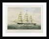 Clipper ship 'Lancashire Witch' 1575 tons by Thomas Goldsworth Dutton