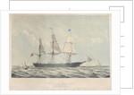 The Australian Clipper Ship 'Mermaid' (1853) by John R Isaac