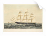 The Celebrated Iron Clipper Ship Chile 767 Tons Register, belonging to Messrs Seymour Peacock & Co of London by E. Offor