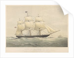 Clipper Ship The 'Murray' (1861) by Thomas Goldsworth Dutton
