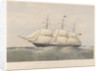 Lithograph of clipper ship 'Coonatto' (1863) by Thomas Goldsworth Dutton