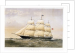 Clipper ship 'Goolwa' (1864) by Thomas Goldsworth Dutton
