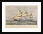 Clipper Ship 'Hesperus' by Thomas Goldsworth Dutton