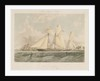 Yachting scene off Cowes, Isle of Wight by Thomas Sewell Robins