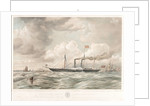 The Admirality yacht HMS 'Black Eagle' by Thomas Goldsworth Dutton