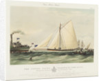 Cutter yacht 'Volante' by Thomas Sewell Robins