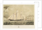 The 'Sverige' winning the Royal Thames Yacht Club match on 1 June 1853 by Thomas Sewell Robins