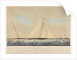 The Cutter Yacht 'Thought' (1854) in 1860 by Josiah Taylor