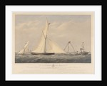 To T. Wilkinson Tetley, Esquire. This print of his Celebrated Cutter Yacht 'Surprise' 20 Tons, winning the Grand Challenge Cup of the Royal Mersey Yacht Club, July 1st 1856 by Charles Taylor [artist & engraver]; Day & Son [engravers]; William Foster [publisher]