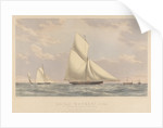 Cutter yacht 'Osprey' (1859) 59 tons by Josiah Taylor