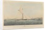 The cutter yacht 'Dagmar' by Thomas Goldsworth Dutton