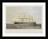 Iron cased screw steam frigate HMS 'Minotaur' by Thomas Goldsworth Dutton