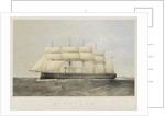 Iron cased screw steam frigate HMS 'Minotaur' by Thomas Goldsworth Dutton