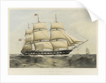 Clipper ship 'Newcastle' by Thomas Goldsworth Dutton