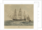 The East Indiaman 'Prince of Wales' by Thomas Goldsworth Dutton