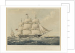 The East Indiaman 'Vernon' by Thomas Goldsworth Dutton