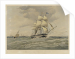 The East Indiaman 'Sutlej' by Thomas Goldsworth Dutton