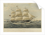 Clipper ship 'Anglesey' by Thomas Goldsworth Dutton