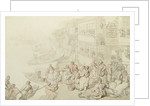 The Salutation Tavern, Greenwich 1756 by Thomas Rowlandson