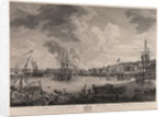 View of the dockyard at Chatham by Richard Paton