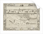Plan of Chatham dockyard by Thomas Milton