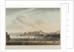 General view of the island of Elba, Porto Ferraio, the town & castle, late the retreat of N. Bonaparte by A.S. Terreni
