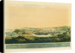 South view of Corunna from the heights near the convent of St Margaret by Lee Francis