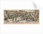Street Scene in Goa, 1599 by Johannes Doetechum