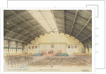 National Maritime Museum, Greenwich. 'Proposed dais, etc for Royal Opening, 1937 by HM Office of Works