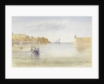 Inside the Harbour at Malta, 17 April 1852 by George Pechell Mends