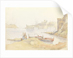 St Angelo and Dockyard Creek, Malta by George Pechell Mends