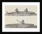 Canoes of Oonalashka by William Angus