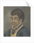 Portrait of a sailor, with dark skin and hair by Robert Streatfeild