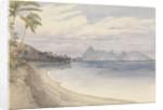 Eimeo [Moorea] from near Papeiti [Tahiti, Society Islands], Augt 25th 1849 by Edward Gennys Fanshawe