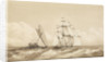 Double canoe off Moalu, Feejee Islands, Septr 26th 1849 [Fiji] by Edward Gennys Fanshawe