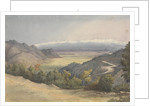 Plain of Santiago, Chile, from the Cuesta del Prado, Jany 7th 1851 by Edward Gennys Fanshawe