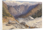 Quarries near Carrara, July 1857 [Italy] by Edward Gennys Fanshawe