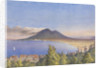 Bay of Naples from Castellamare, May 1858 [Italy] by Edward Gennys Fanshawe