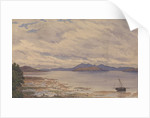 Arran and the Firth of Clyde from Fairlie, 1843 [Scotland] by Edward Gennys Fanshawe