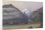 Jungfrau from Interlaken, 1877 [Switzerland] by Edward Gennys Fanshawe