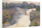 Falls of Orrin in a spate, September 3rd 1883 [Scotland] by Edward Gennys Fanshawe