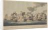 The Battle of Trafalgar, 21 October 1805 by John Thomas Serres