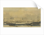 Off Blackwall Docks. Showing the 'Brunswick' 'Propellor' and 'Waterman' by unknown