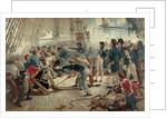 The Hero of Trafalgar, 21 October 1805 by William Heysham Overend